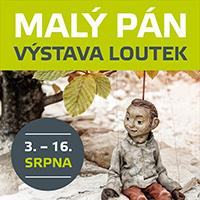 Výstava loutek z pohádky Malý Pán ve Foru Liberec