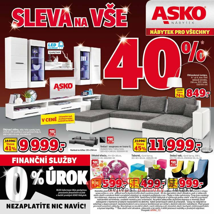 Leták Asko nábytek - Asko nábytek 5.5 - 29.5 - strana 1