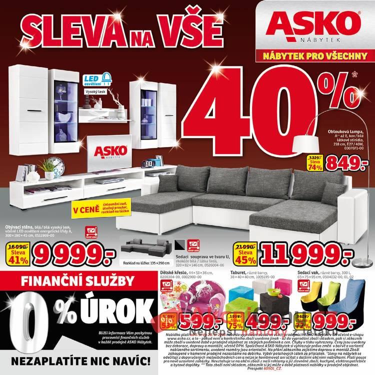 Leták Asko nábytek - Asko nábytek II - 5.5 - 29.5 - strana 1
