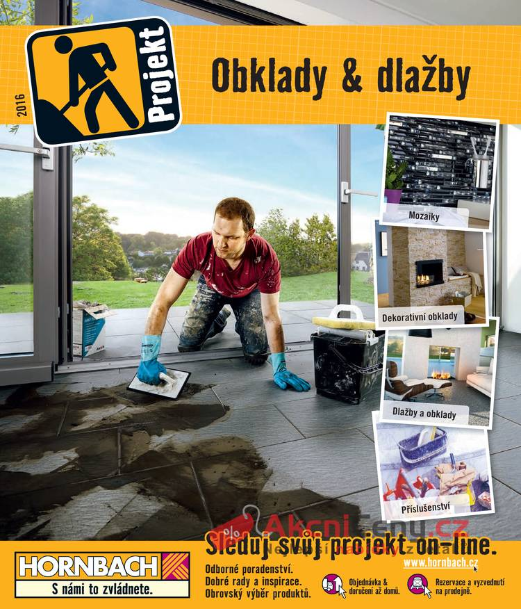 Leták HORNBACH - Hornbach obklady a dlažby do 30.8. - strana 1