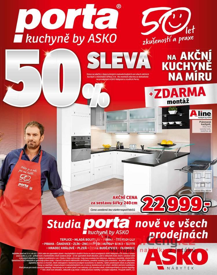 Leták Asko nábytek - Asko nábytek 23.6 - 10.7 - strana 1