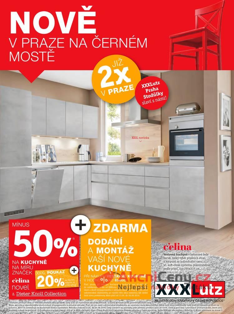 Leták XXXLutz - XXXLutz -50 % na kuchyně vybraných značek - strana 1