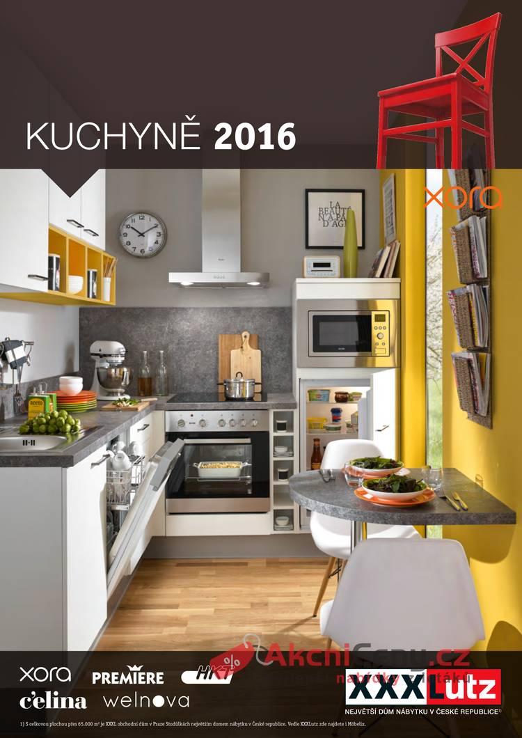 Leták XXXLutz - XXXLutz: Kuchyně 2016 - strana 1
