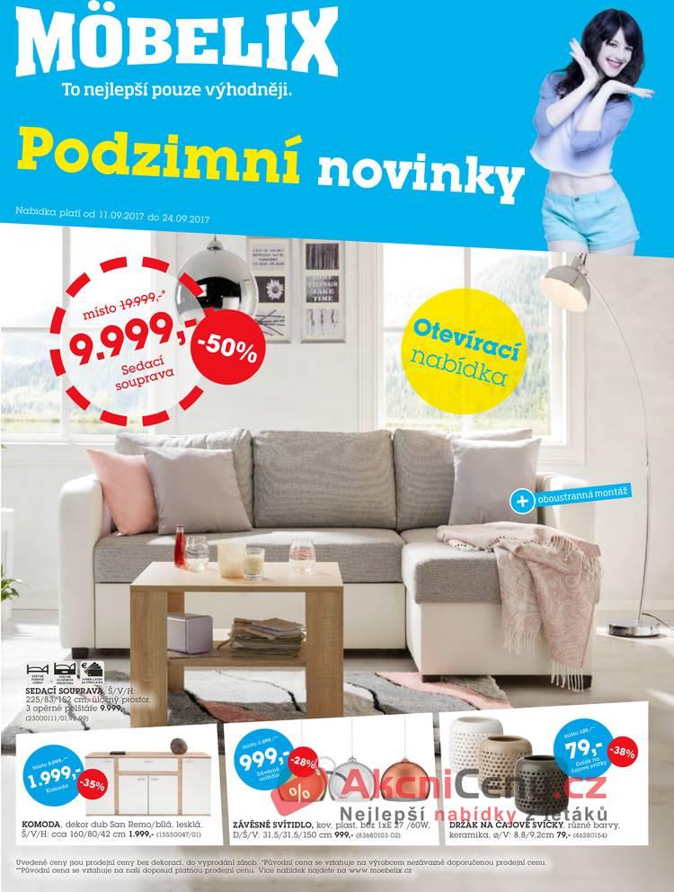 Leták Mobelix - Möbelix 11.9. - 24.9. Praha Stodůlky - strana 1