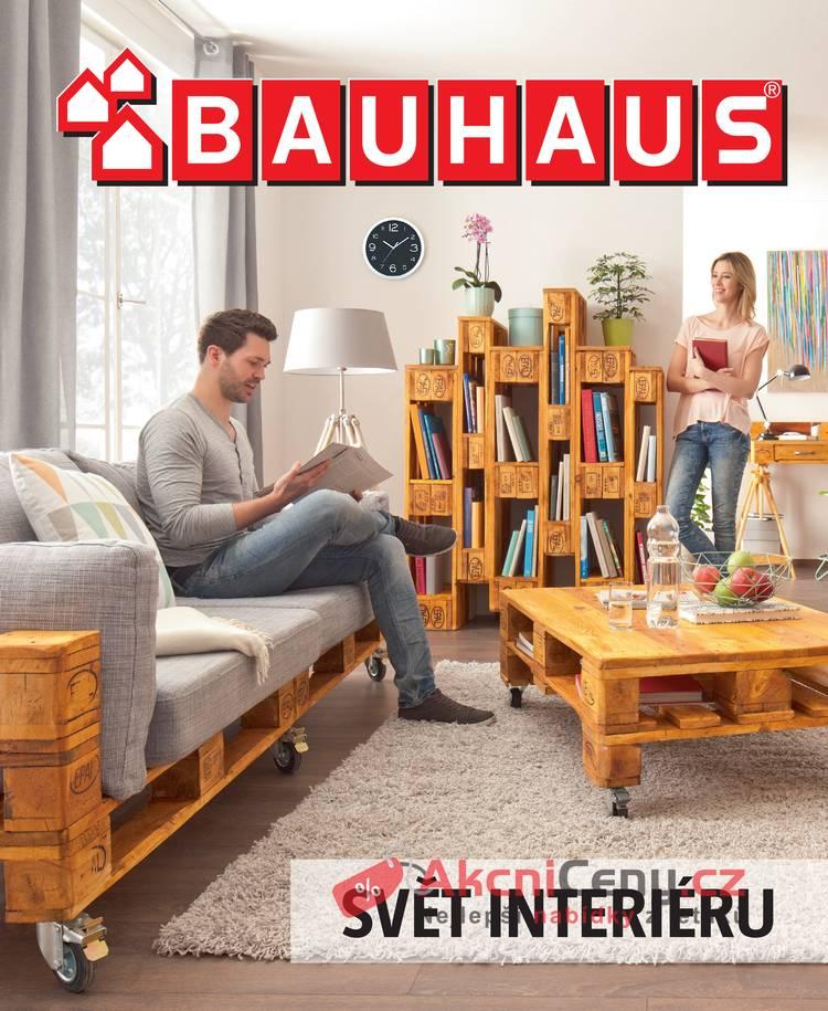 Leták BAUHAUS - Bauhaus Svět interiéru 17.10. - 30.4.2018 - strana 1