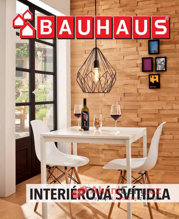 Leták BAUHAUS - Bauhaus Interiérová svítidla 25.10 - 30. 6. 2018 - strana 1