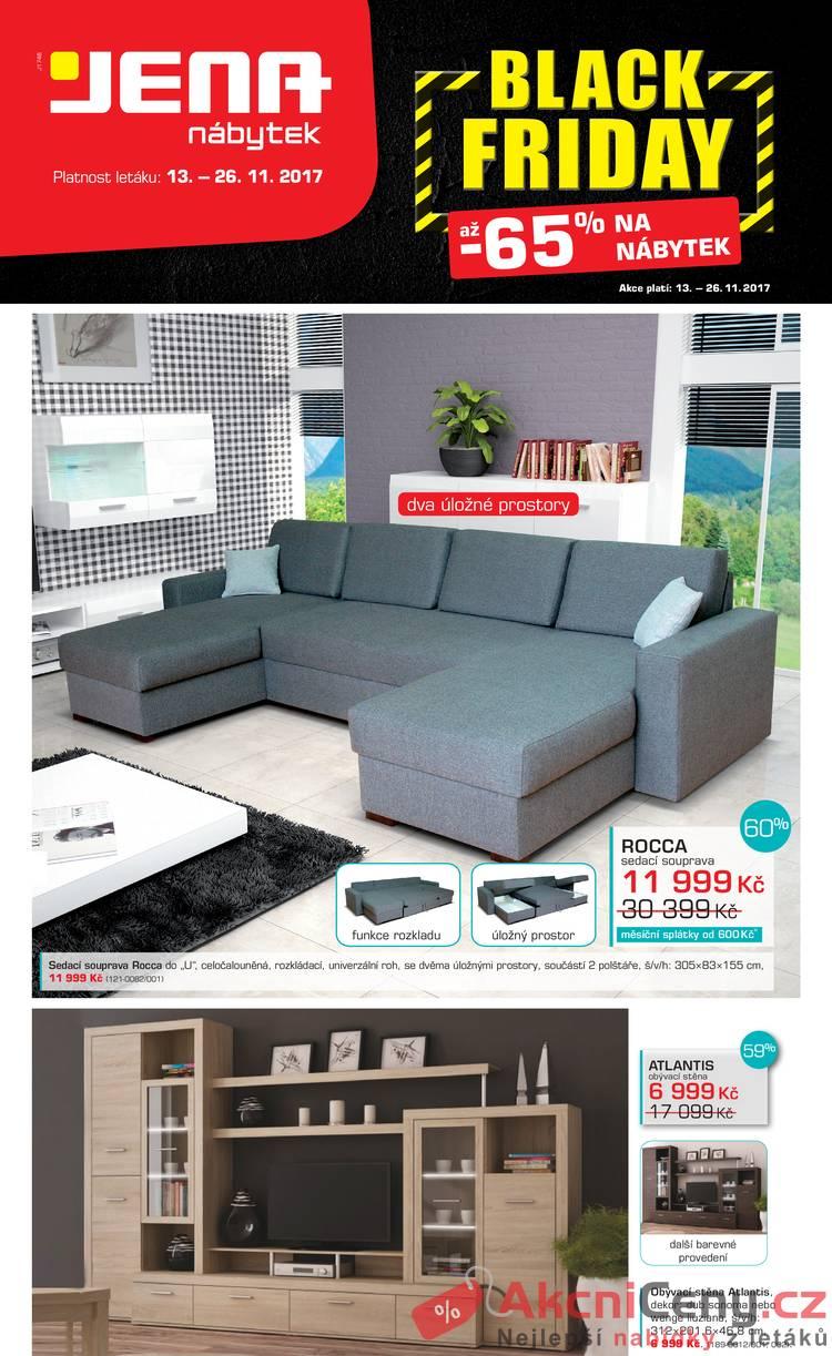 Leták JENA-nábytek - JENA nábytek 13.11. - 26.11. - strana 1