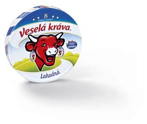Veselá kráva sýr, různé druhy
