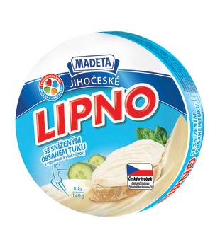 Jihočeské Lipno, tavený sýr se sníženým obsahem tuku 26%