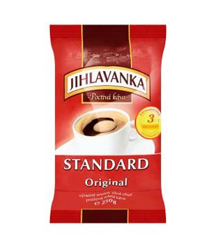 Jihlavanka Standard Original, pražená mletá káva
