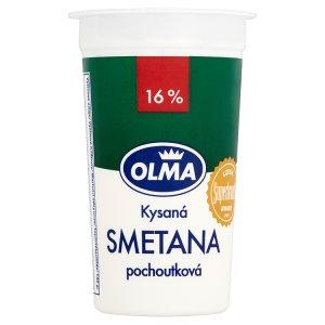Olma Kysaná smetana pochoutková 16% 200g