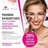 Dermacol Beauty Days v OC Palác Pardubice vás rozzáří