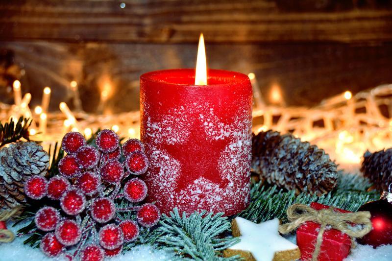 Adventní výzdoba – od adventního věnce po vánoční stromeček