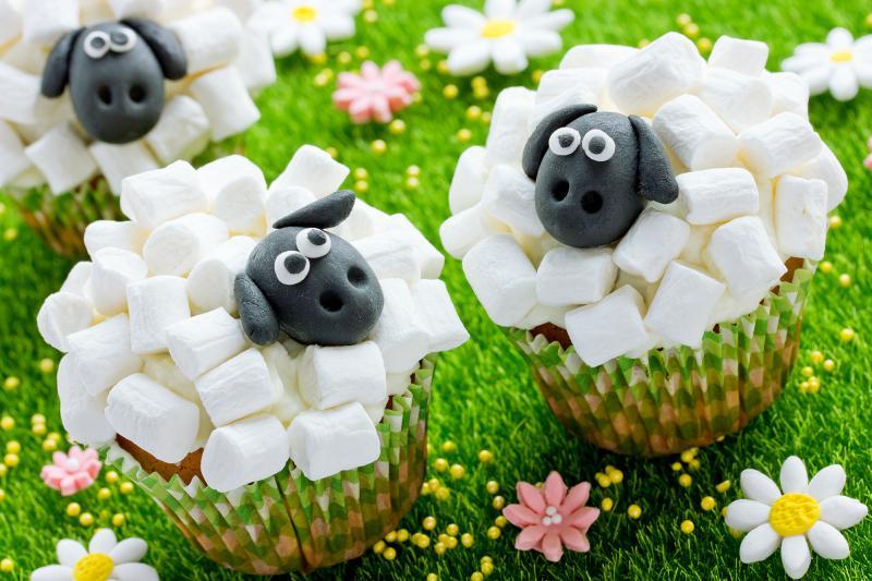 Lahodné velikonoční recepty – Ovčí muffiny