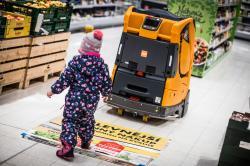 Albert jako první maloobchodník u nás testuje autonomní úklidové roboty