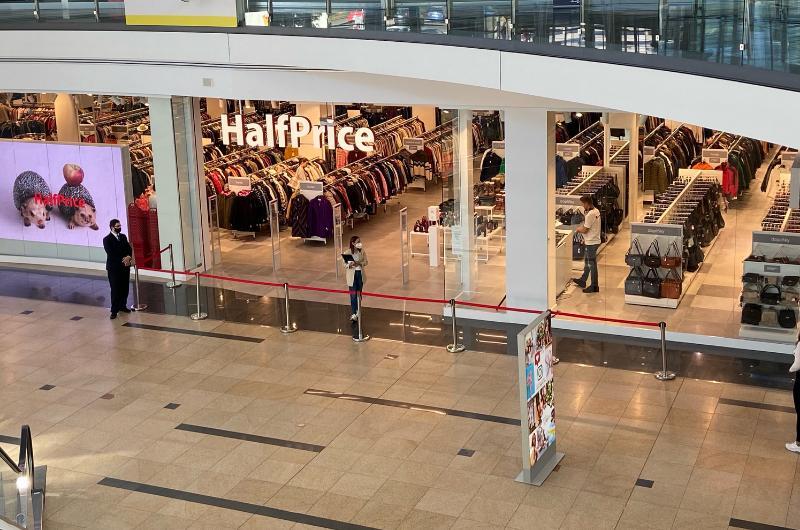 První prodejna HalfPrice v Česku!