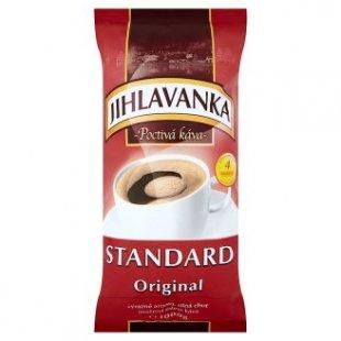 Jihlavanka Standard 1kg mletá káva, vybrané druhy