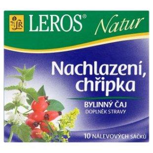 Leros bylinný čaj 10 sáčků, vybrané druhy
