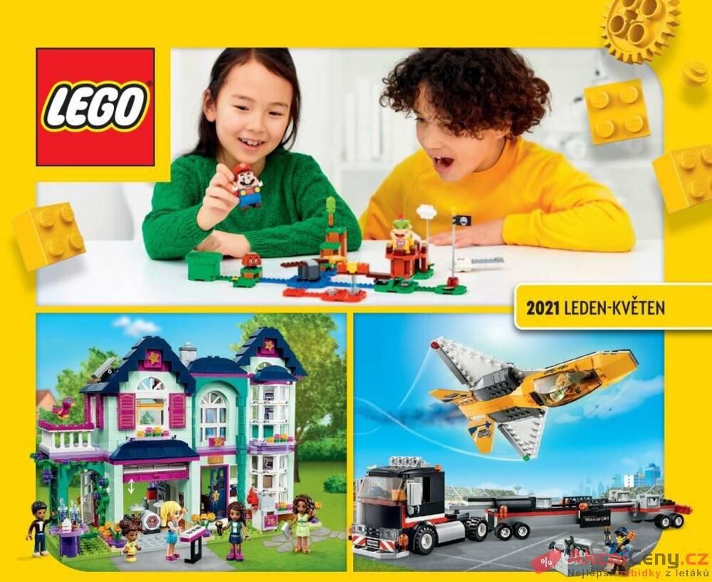 Tesco Lego katalog Jaro 2021