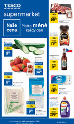 Leták Tesco supermarkety od 6.4. do 13.4.2021