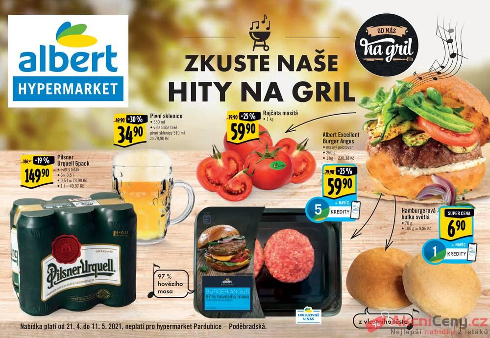 Albert  Hypermarket katalog Gril od 21.4. do 11.5.2021