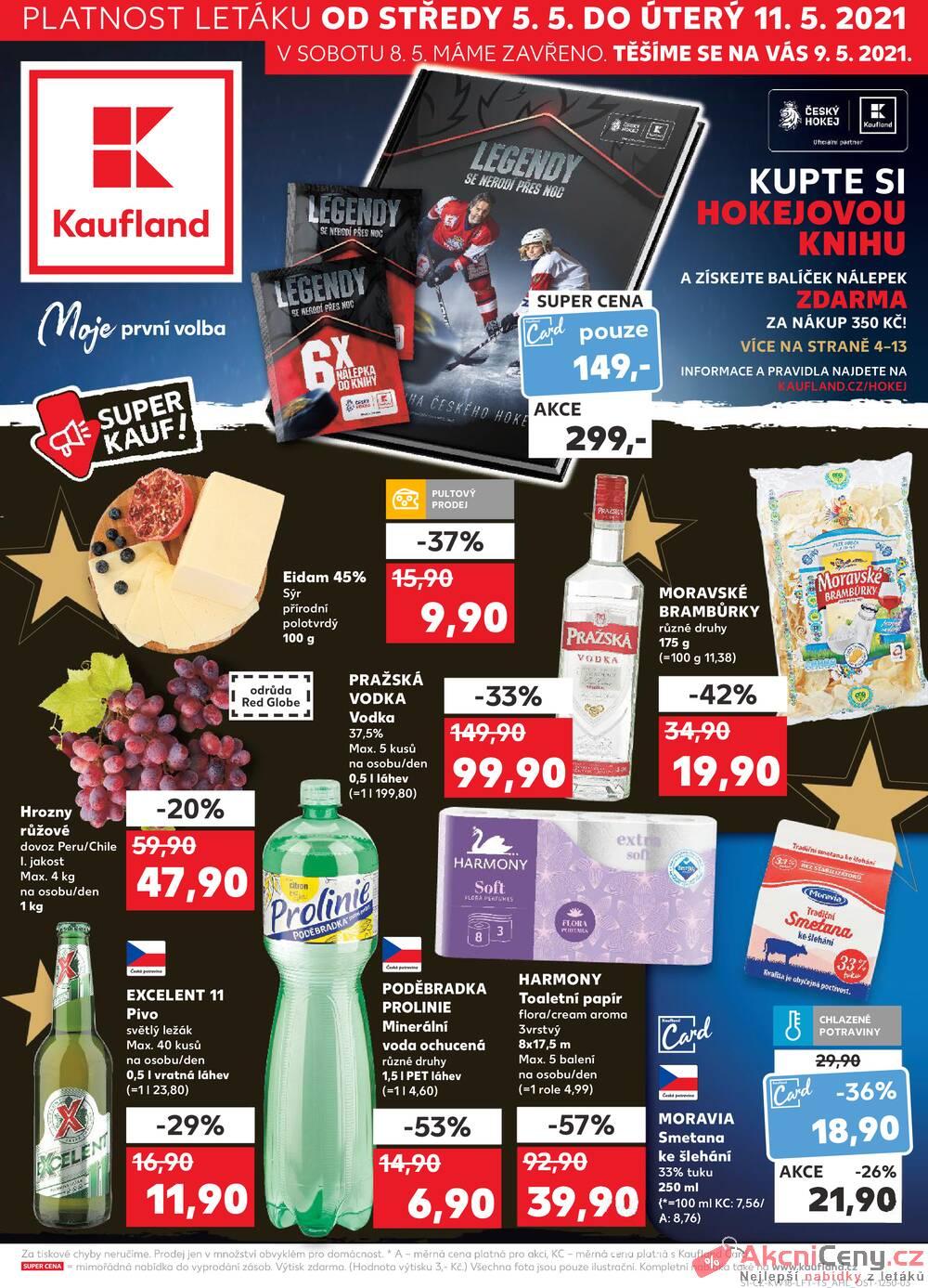 Kaufland 5.5. - 11.5. - Kaufland - Praha - Hloubětín