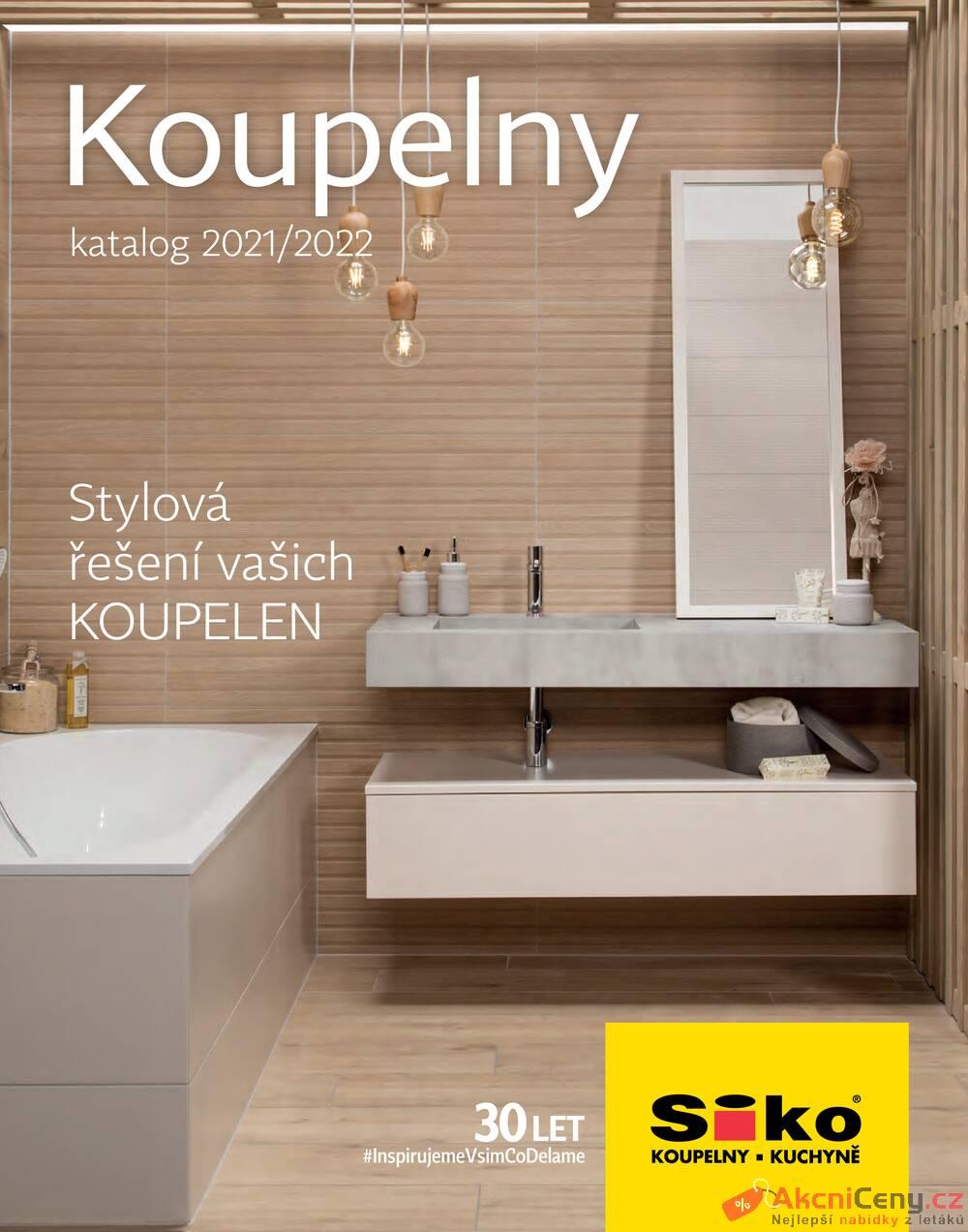 Leták Siko koupelny - Siko Katalog Koupelny 2021/2022 - strana 1
