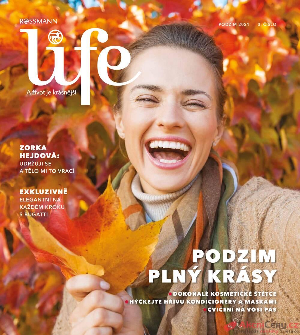Leták ROSSMANN - Rossmann Magazín 15.9. - 9.11. - strana 1