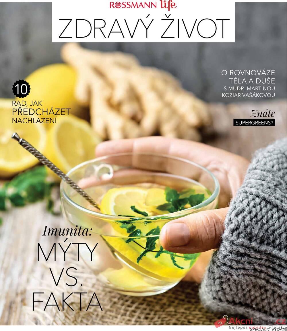 Leták ROSSMANN - Rossmann Magazín 13.10. - 31.12. - strana 1