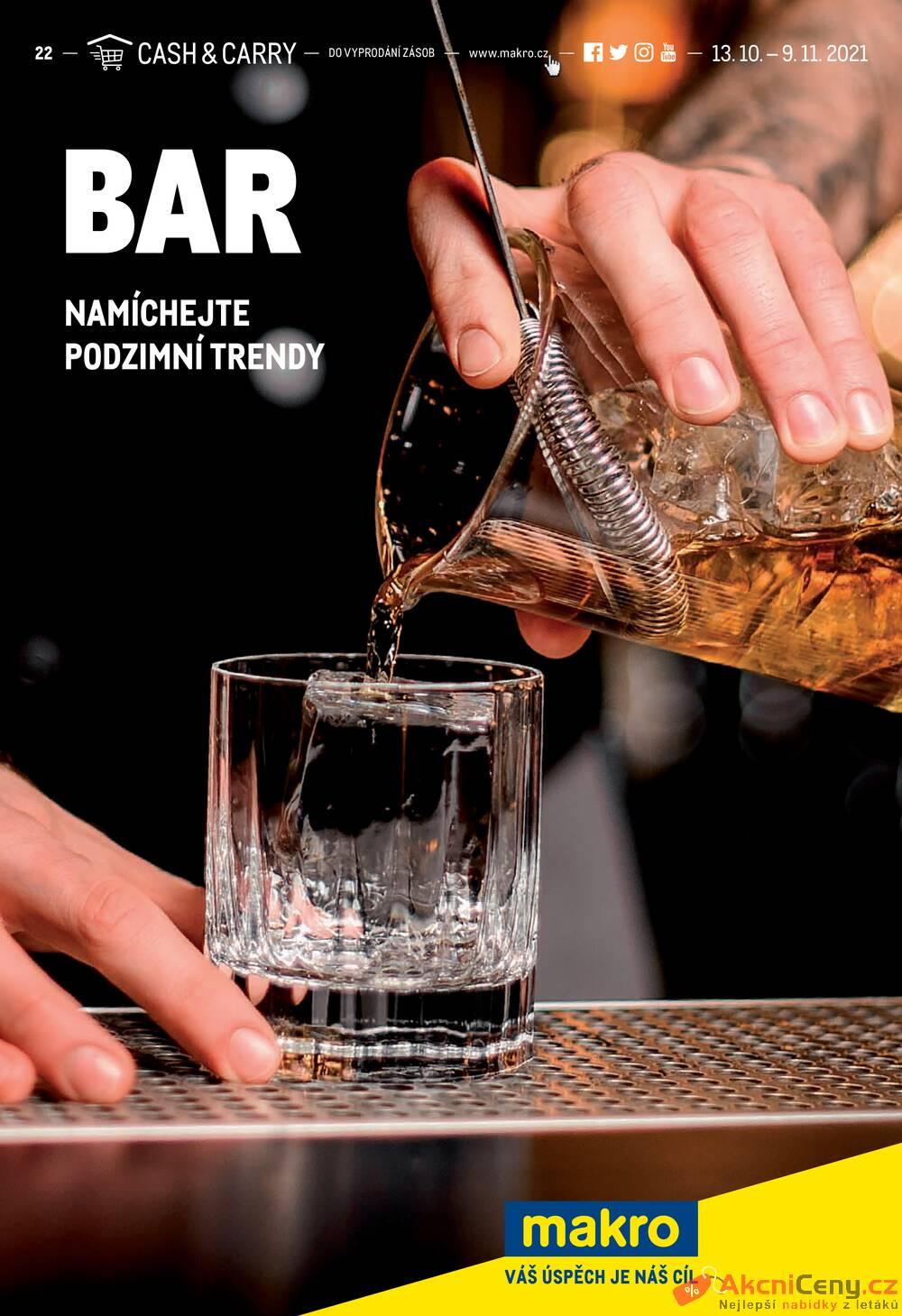 Leták MAKRO - Makro Bar do 9.11. - strana 1