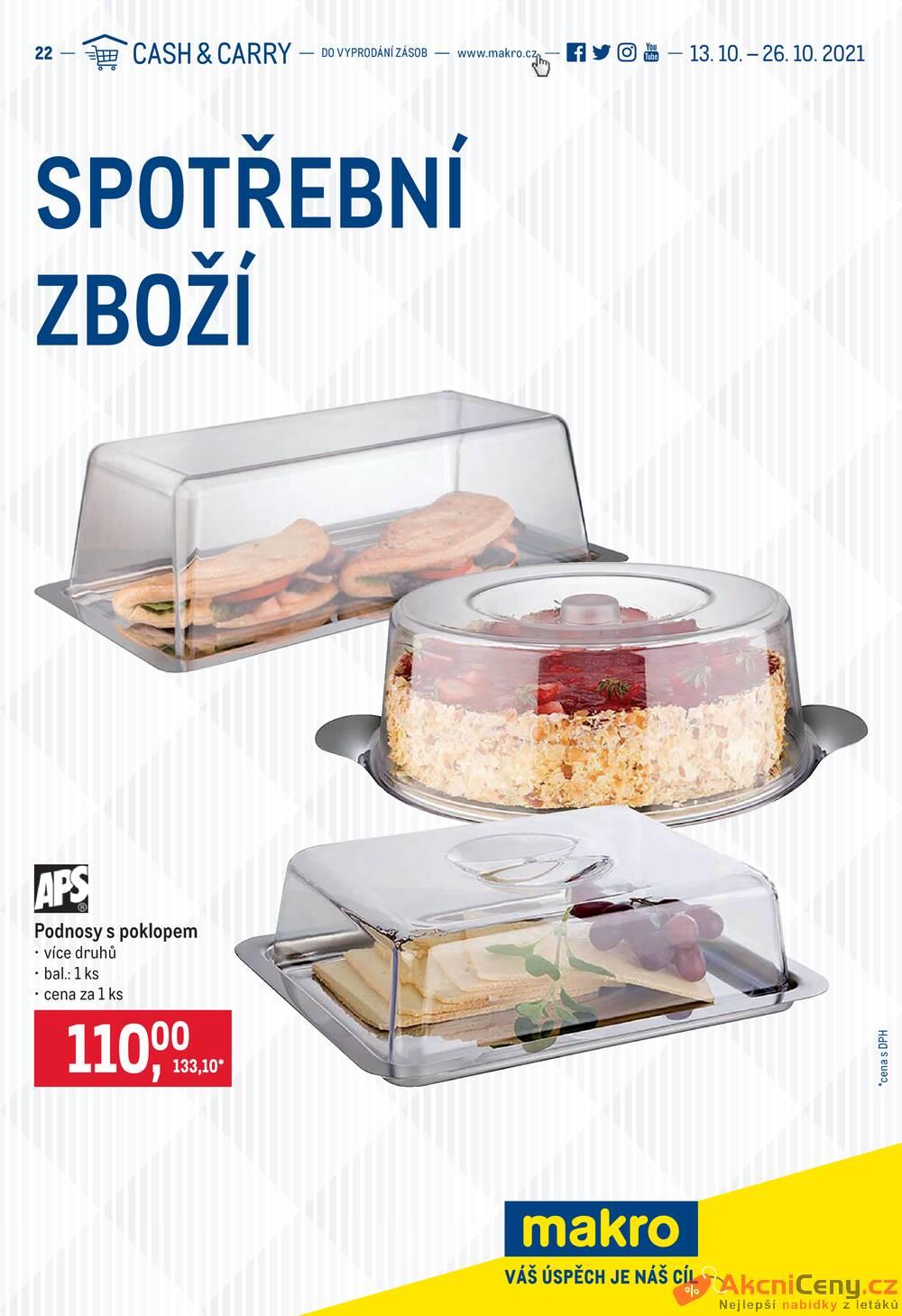 Leták MAKRO - Makro Spotřební zboží do 26.10. - strana 1