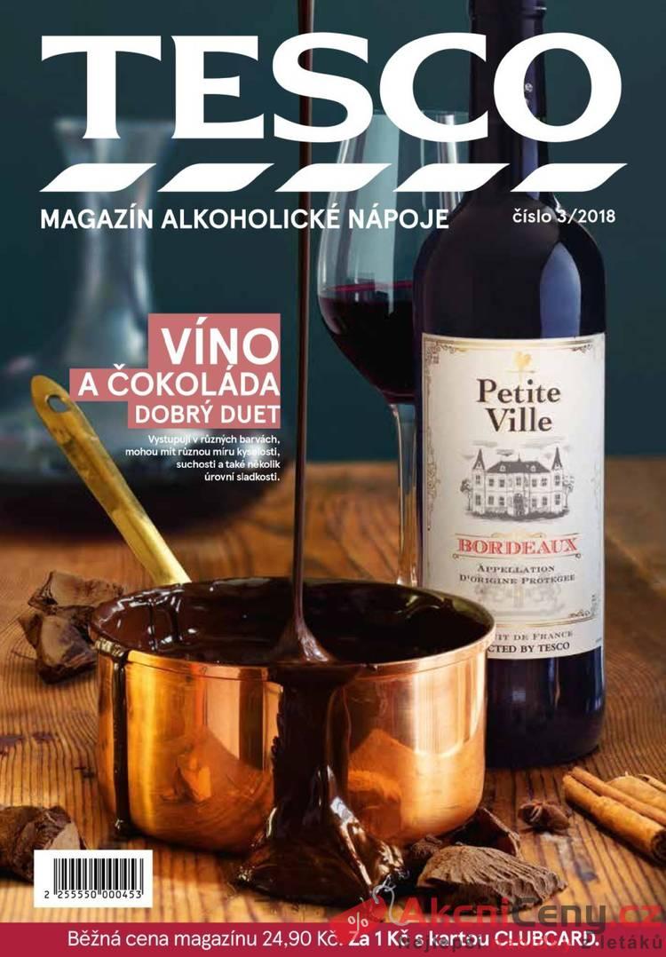 Tesco magazín Alkoholické nápoje do 31.12.