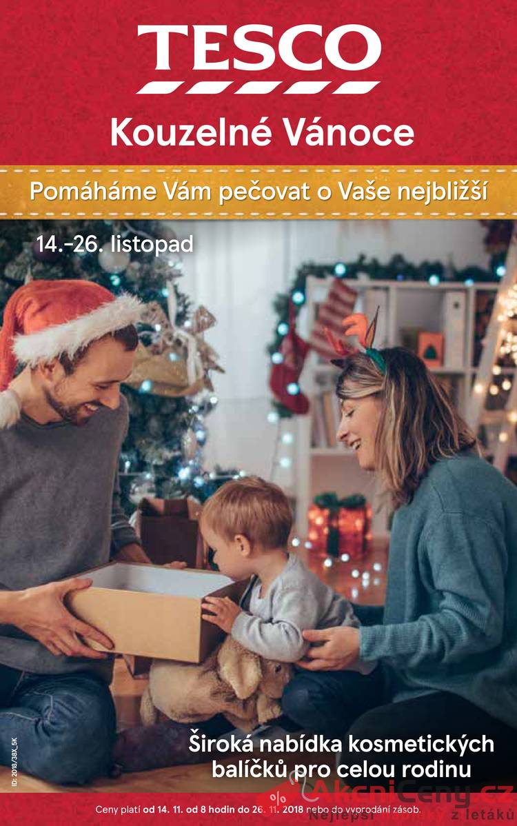 34afc5d894afc Slevový leták - Tesco speciál velké hypermarkety 14.11. - 26.11 ...