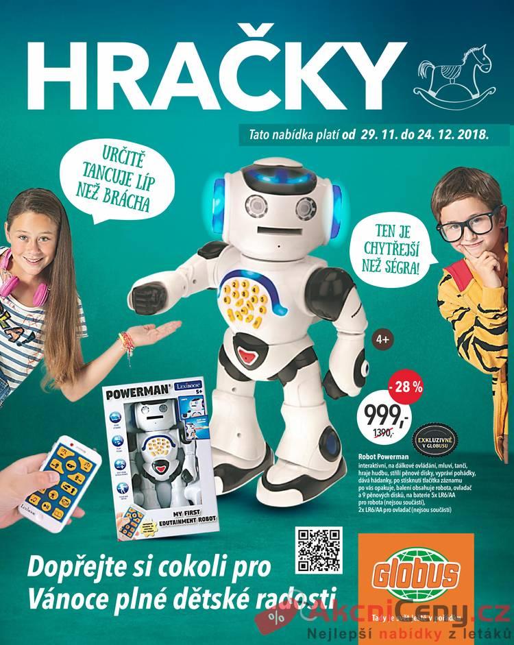 Leták Globus - Globus speciál všechny pobočky HRAČKY 29.11. - 24.12. - strana 1