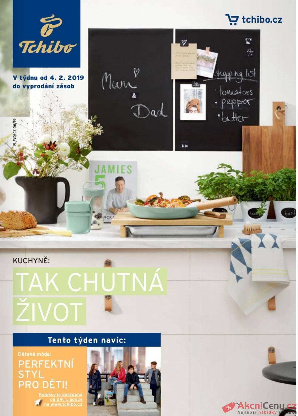 b11651d4ffc Slevový leták - Tchibo magazín 6.11. - 18.12. - eMimino.cz