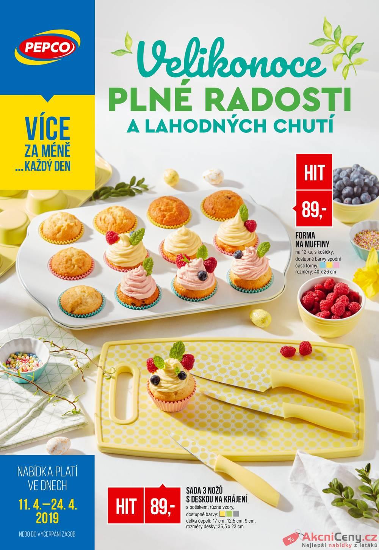 Leták Pepco - Pepco 11.4. - 24.4. - strana 1