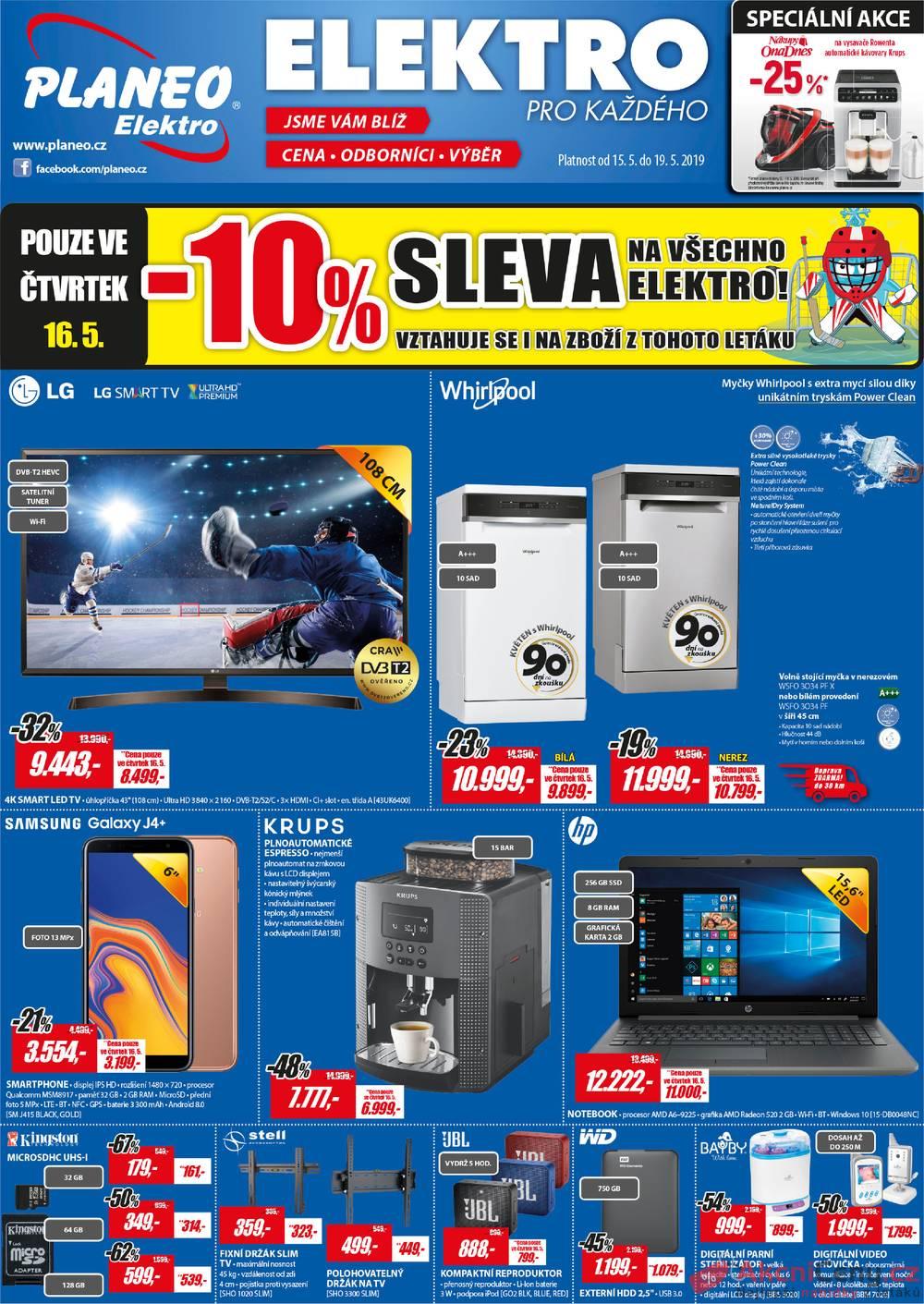 Katalog Planeo Elektro 15.5. - 19.5.
