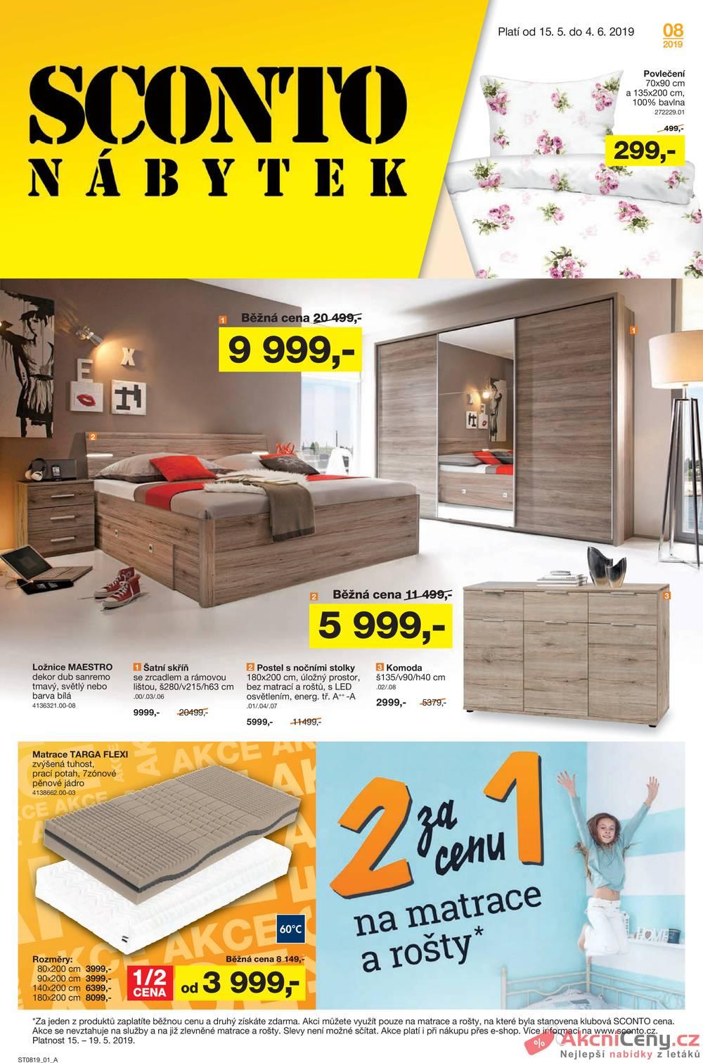 Katalog Sconto nábytek 15.5. - 4.6.