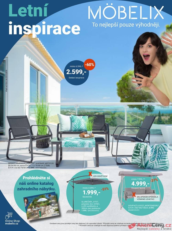 Katalog Möbelix Letní Inspirace od 10.6. do 23.6.2019