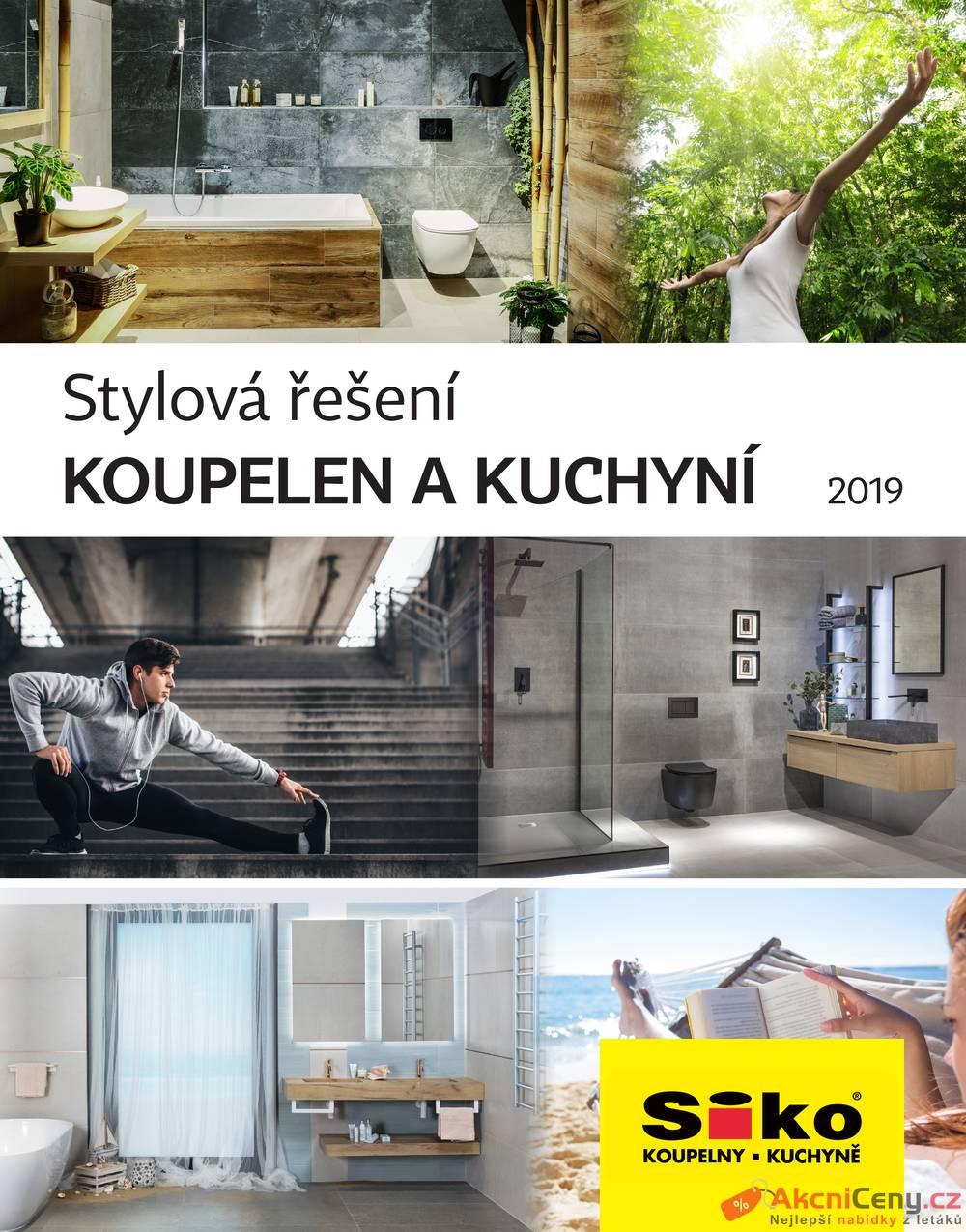 Katalog Siko koupelny & kuchyně do 31.12.