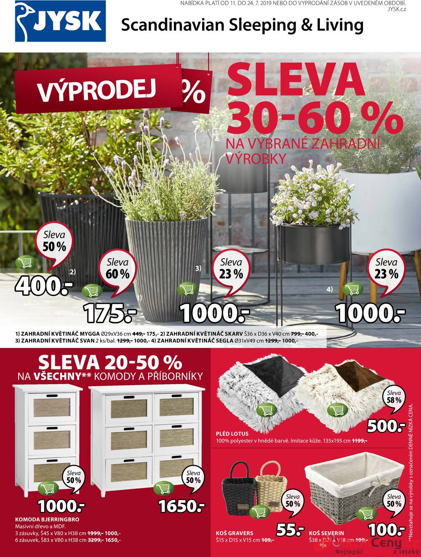 Katalog Jysk od 11.7. do 24.7.2019