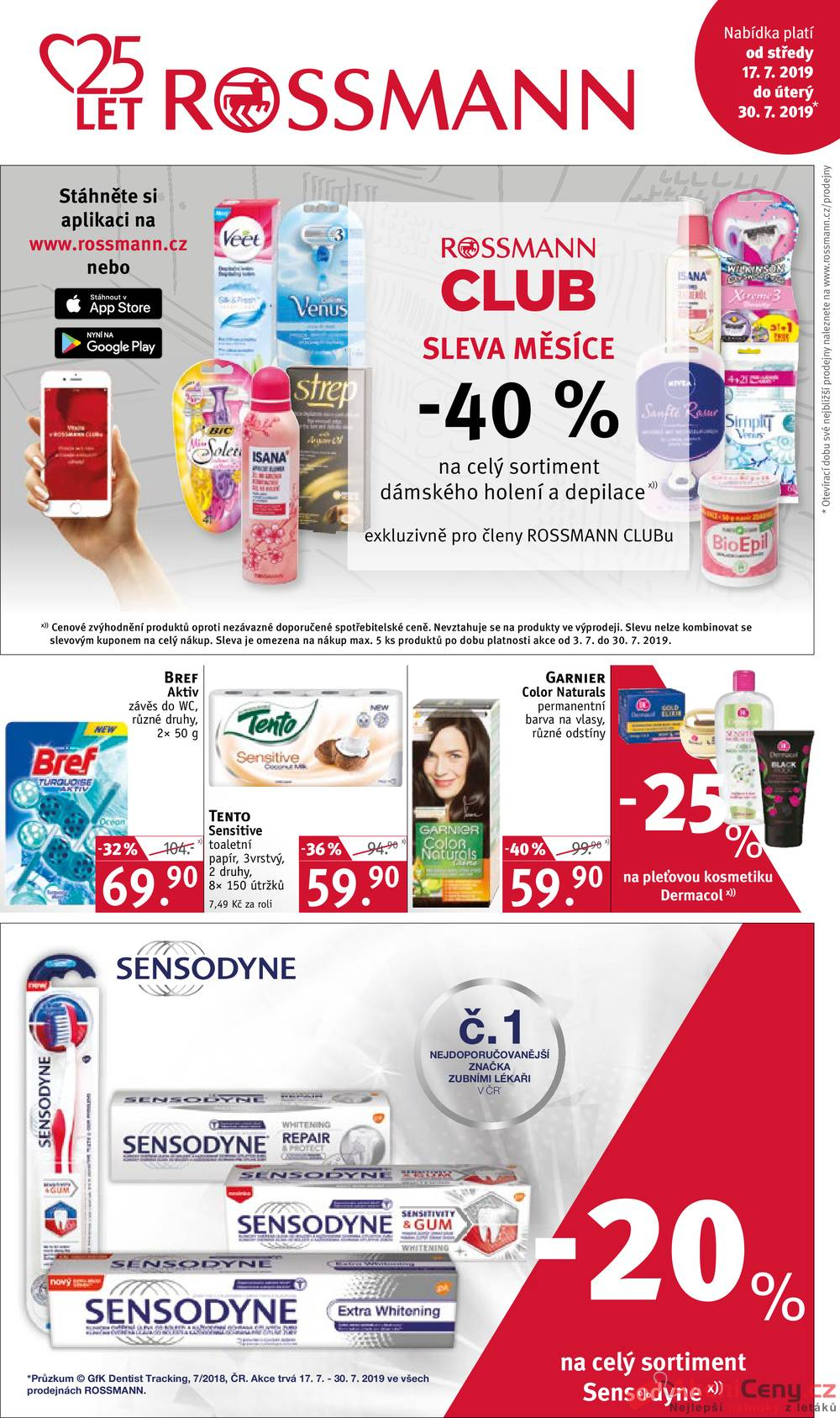 Rossmann od 17.7. do 30.7.2019