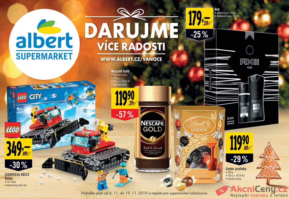 Albert Supermarket katalog od 6.11. do 19.11.2019