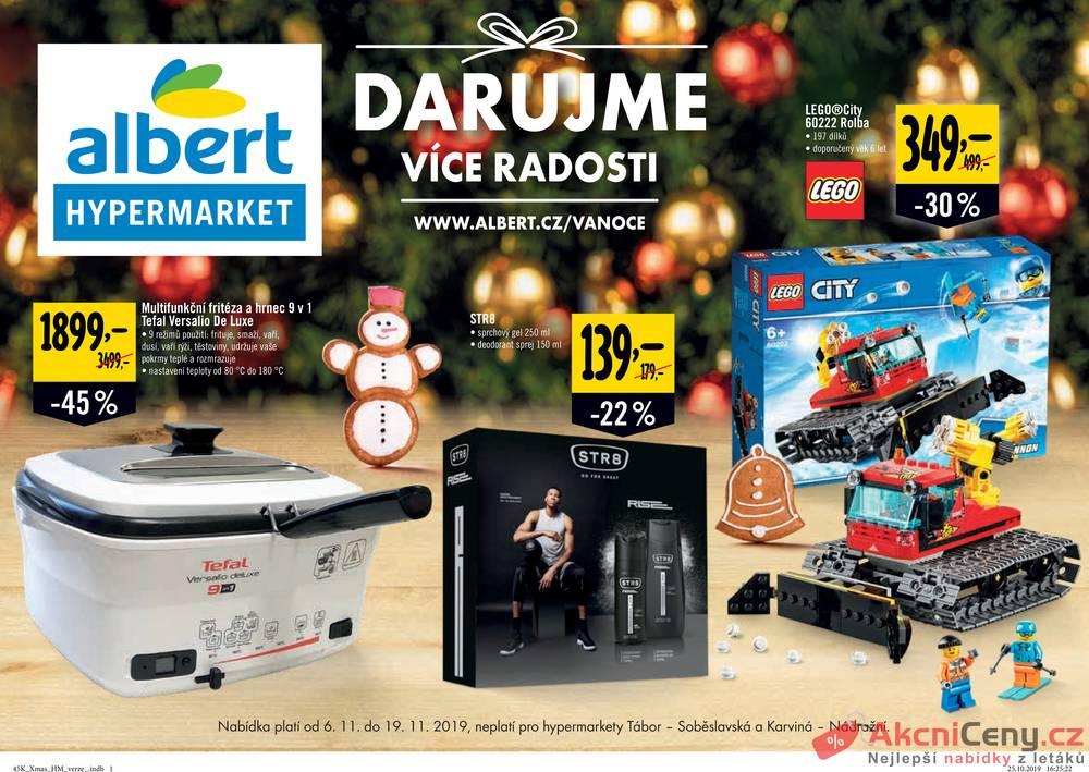 Albert  Hypermarket katalog od 6.11. do 19.11.2019