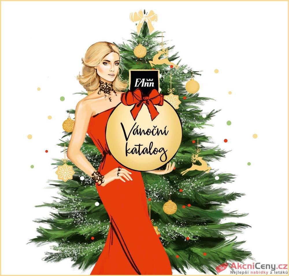 Leták FAnn parfumerie - FAnn vánoční katalog do 31.12. - strana 1