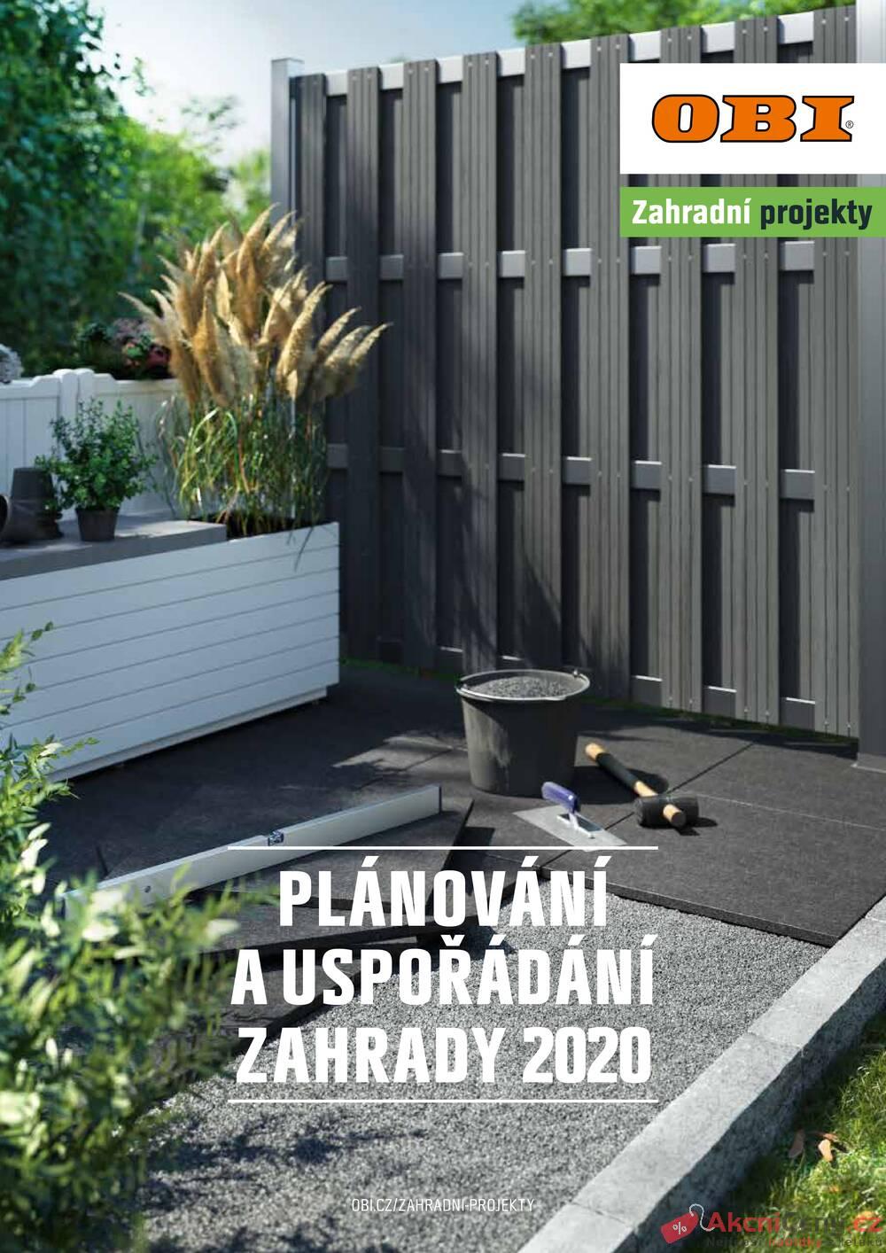 Katalog OBI PLÁNOVÁNÍ A USPOŘÁDÁNÍ ZAHRADY do 30.9.