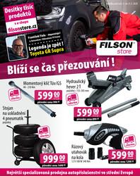 leták Filson Store