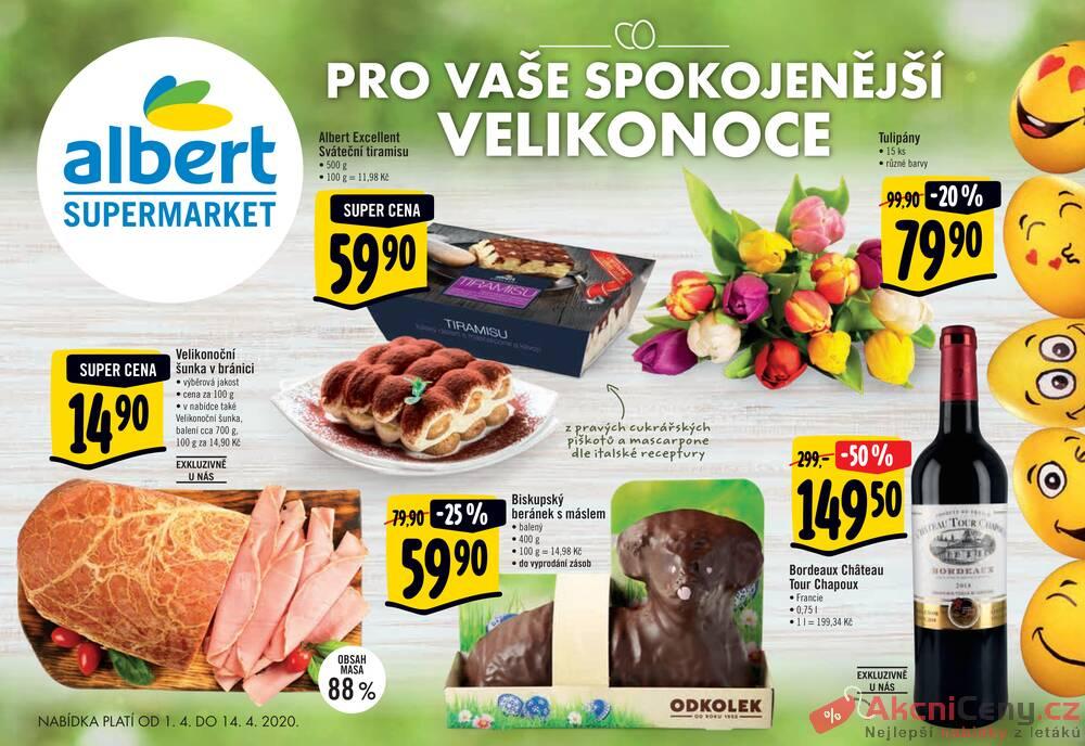 Albert Supermarket katalog od 1.4. do 14.4.2020