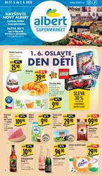 Leták Albert Supermarket 27.5. - 2.6. Kutná Hora - Masarykova