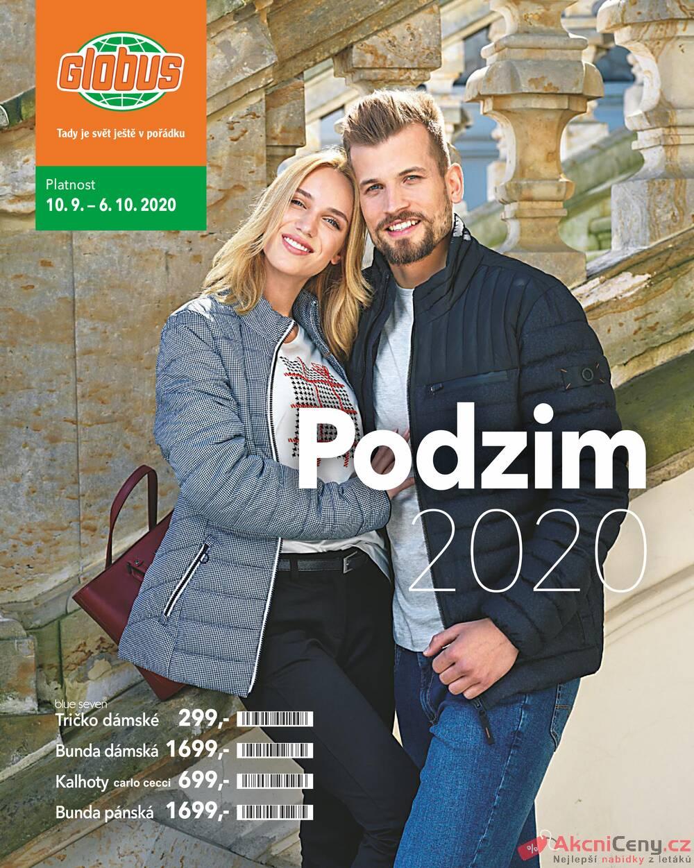 Leták Globus - Globus katalog podzim všechny pobočky 10.9. - 6.10. - strana 1